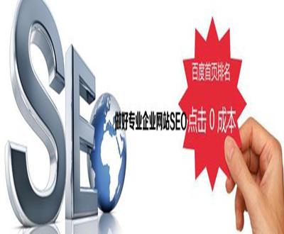 做好专业企业网站SEO