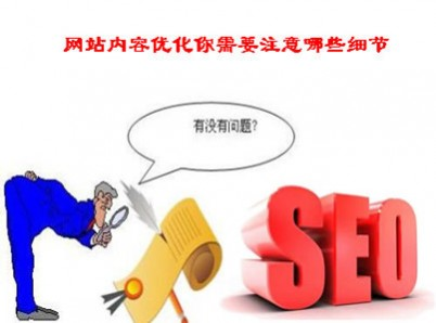网站内容优化需要注意哪些细节