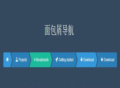 网站设计之【面包屑导航设计】