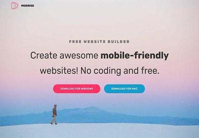 Mobirise网站建站工具